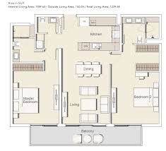 100 meadows type 2 floor plan toll brothers at flatiron