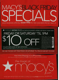 macy s black friday 2011 ads special deals include wow pass and