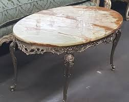 french provincial coffee table for sale 50 s french provincial coffee table with marble top marva s