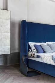 navy blue upholstered headboard and best headboards ideas images