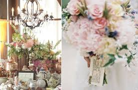 Vintage Wedding Centerpieces Vintage Wedding Tabletop Reception Decor Wedding Flower Centerpieces