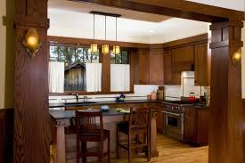 Prairie Style Kitchen Cabinets Mission Style Kitchen Cabinets New Craftsman Bungalow Kitchen