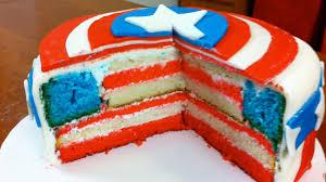 captain america cakes how to make a captain america cake nerdy nummies