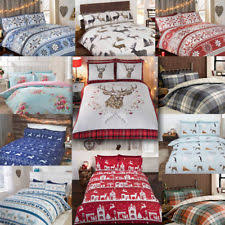 Brushed Cotton Duvet Covers Floral Duvet Covers And Bedding Sets Ebay