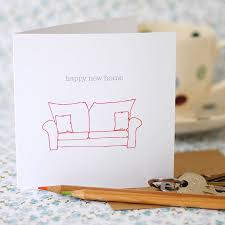 personalised happy new home card by the green gables