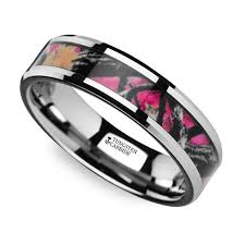 camo wedding rings his and hers discover camo rings for him