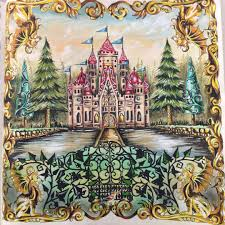 enchanted forest by johanna coloring book inspiration