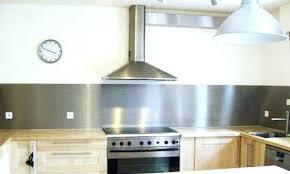 revetement mural inox pour cuisine protection murale cuisine plaque mur cuisine protege mur cuisine