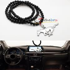 jdm pony car rearview mirror hanging ornament pendant for