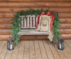 Garland Hangers For Banister Christmas Porch Decorations