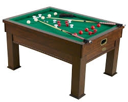 Dining Table And Pool Combination by Bumper Pool Robertson Billiards