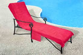 Chaise Lounge Terry Cloth Covers Pool Side 1000 Gram Chaise Cover Pool Lounge Chair Cover Lawn