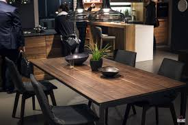 Black Wood Dining Room Table A Natural Upgrade 25 Wooden Tables To Brighten Your Dining Room