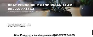 Aborsi Klinik Ntt Jual Obat Aborsi Asli 082227774463