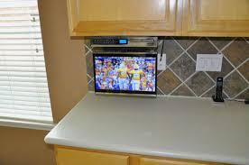 Kitchen Televisions Under Cabinet 15 Inch Under Cabinet Tv Bar Cabinet