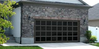 garage doors custom aluminum garage door custom painted with white laminated glasglass