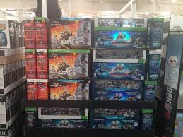 caught xbox 360 xbox one and wii u dark edition starter packs at