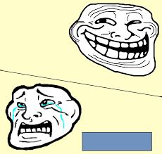 Trollface Meme - crying troll face meme generator imgflip