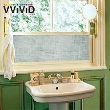 Decorative Window Decals For Home Amazon Com Linen Crosshatch Pattern Frosted Privacy Decorative