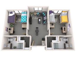 apartment complex floor plans office of residence life student housing grand canyon university
