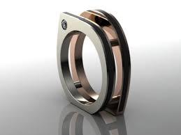 unique mens infinite square unique mens engagement ring unique engagement