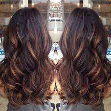 diy highlights for dark brown hair chocolate brown with caramel highlights red highlights