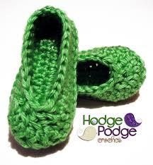 basic baby shoes hodgepodge crochet