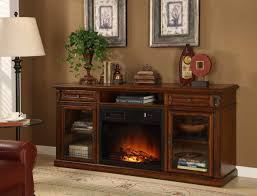 furniture bown polished wooden corner electric fireplace tv stand