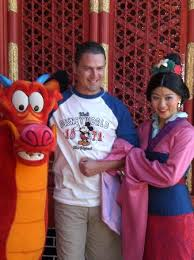 meeting characters mulan epcot picture epcot
