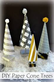 Cone Tree Easy Diy Paper Cone Trees Mom On Timeout