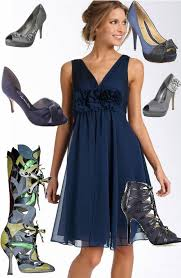 navy blue dress what color shoes all women dresses