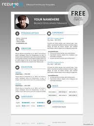 free modern resume templates psd odern resume templates free modern resume template 15 free elegant