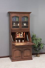 secretary desk with bookcase bookcase secretary desk bookcase favored secretary desk with