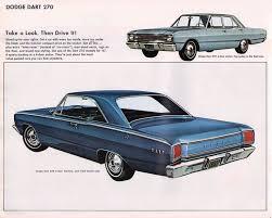 1967 dodge dart 4 door 1967 dodge dart 270 2 door hardtop and 4 door sedan dodge 1964