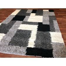 Area Rugs Gray Black And White Modern Rug Fin Soundlab Club