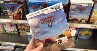 target cyber sale exclusive cars 3 dvd book 17 39