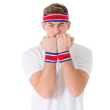 sweat bands boy sweatbands the w1nners club satirical corporate