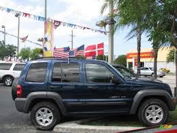 2003 blue jeep liberty 2003 jeep liberty sport in patriot blue pearl 717275 jax