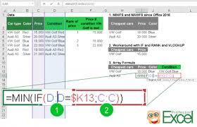 Countif Sumif Minif Minif Maxif 5 Easy Ways In Excel Professor Excel