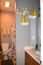 Bathroom Yellow And Gray - bathroom yellow painted bathrooms 2017 also best ideas images