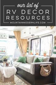 Camper Interior Decorating Ideas by 956 Best Mml Blog Images On Pinterest Rustic Modern Rv And