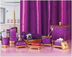 unique purple and gold bathroom accessories 85 on with magenta