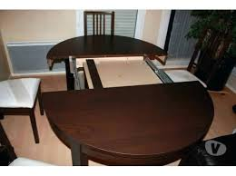 table de cuisine pied central ikea bjursta hack table excellent table cuisine pied central en with