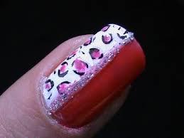 leopard nail art cute pink nail designs youtube