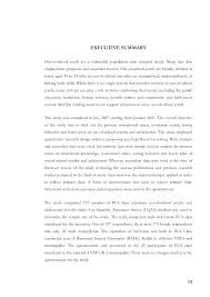 resume executive summary example resume examples resume examples thesis summary example picture resume examples preview of the thesis a study of socio economic status of out of
