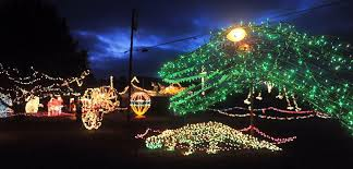 christmas lights in alabama gilley family continues to light up ball play with christmas joy