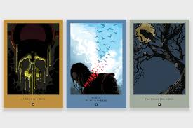 game of thrones posters by robert ball hiconsumption