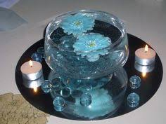 Blue Wedding Centerpieces by Blue And Silver Wedding Centerpieces Danyelle You Can Rent The