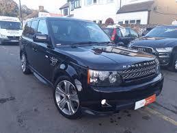 range rover sport diesel second hand land rover range rover sport 3 0 sdv6 hse black