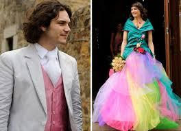 robe de mari e original mariage original et coloré avec gros budget et cérémonie laïque